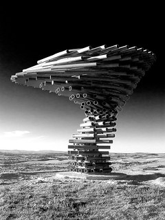The Singing Ringing Tree, Crown Point, Burnley, Lancashire (SD 851289) [HDR Toning Applied] | by Pigalle