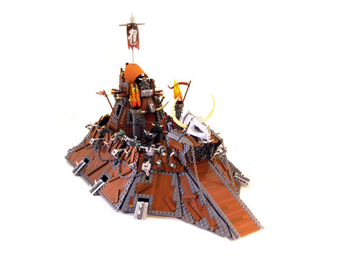 Mechanized Orc Castle 01