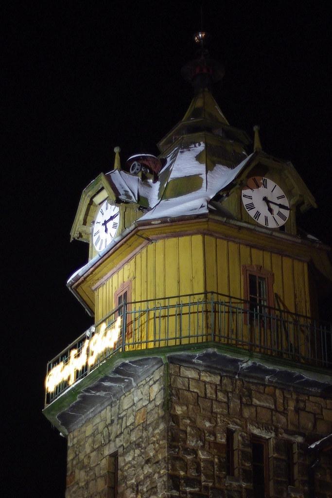 Strażacka wieża / Fire station watchtower