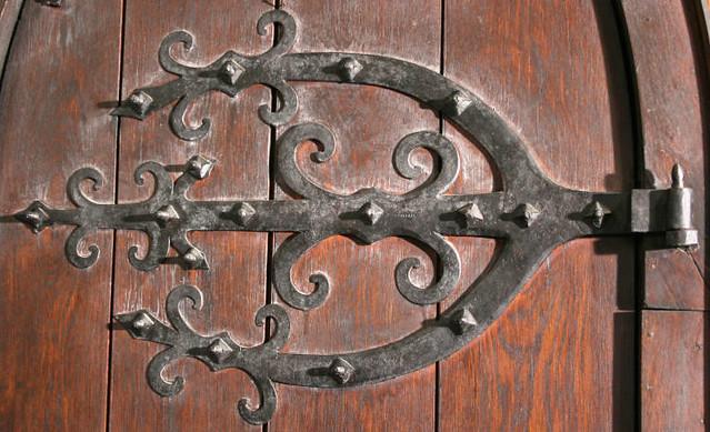 ... Ca Wrought Iron Door Hardware, St. John Chrysostom Church, Delafield,  Wisconsin, Ca
