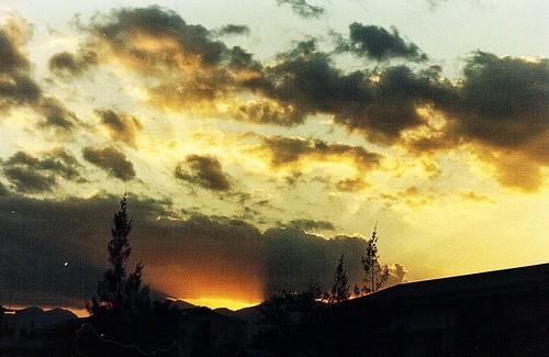 sunset clarkairbase 3amu