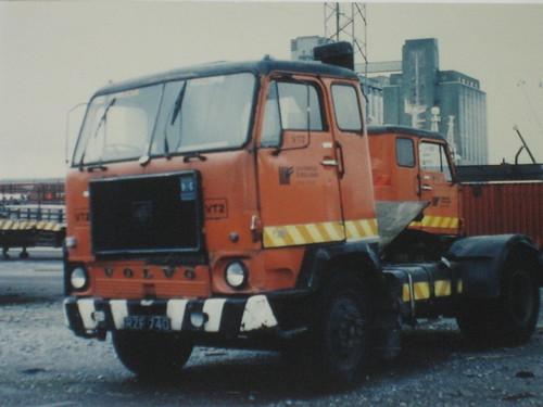 F88 Volvo Ceannt Station Yard 1993 | by desomurchu archive gallery