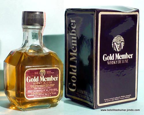 "406 Whisky ""Gold Member"" Lic. Unidas Venezuela"