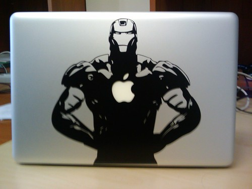 MacBook Pro Iron Man Decal | by ~gionn