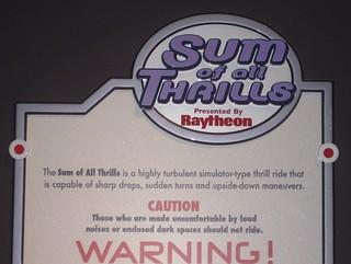 Sum of All Thrills