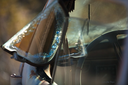 Old Car Abstract by Jim Frazee