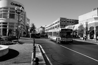 Clarendon with Metro Bus | by Arlington County