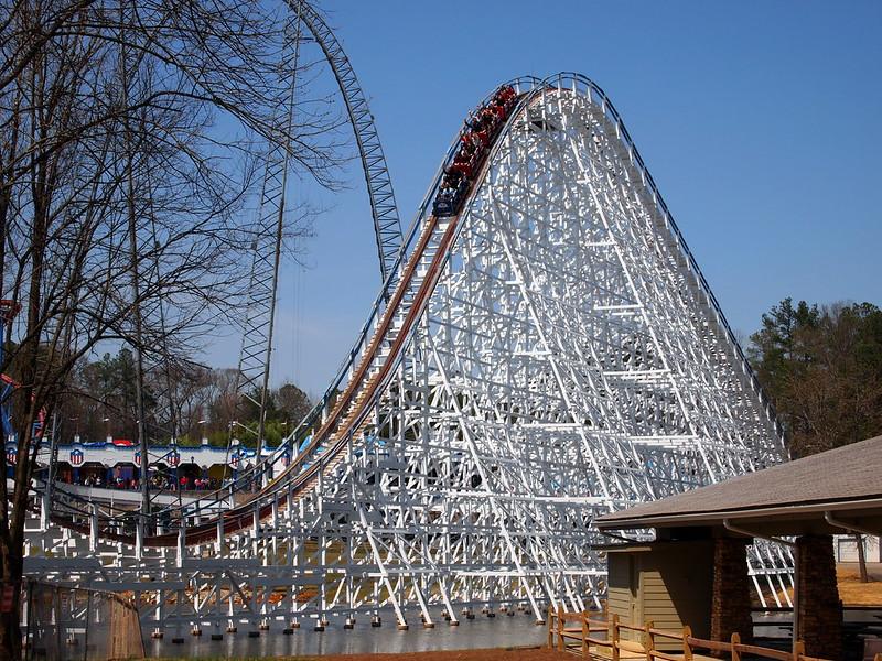 Great American Scream Machine - Six Flags Over Georgia