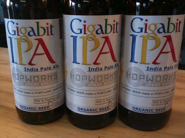 Gigabit IPA from Hopworks Brewpub