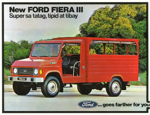 1981 Ford Fiera III (Philippines) S1