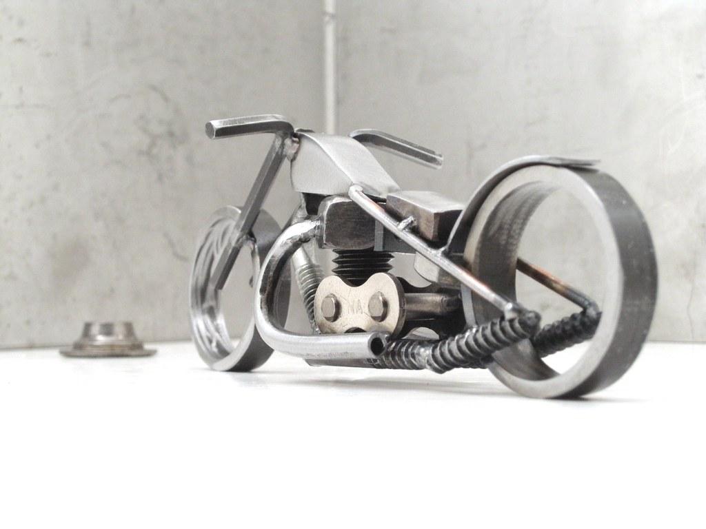 Bike 135 Scrap Metal Art Sculpture Year Of The Chopper 33 Flickr