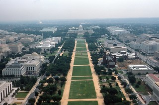View from Washington Monument, 1984