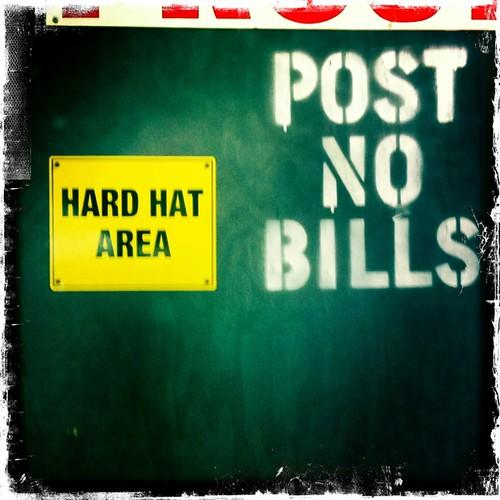 Post No Bills | by eriwst