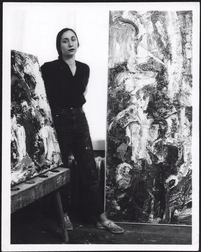 Portrait of Sonya Rapoport (1960s), by Rondal Partridge