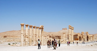 On the way to the Temple of Ba'al in Palmyra, Syria | by Alessandra Kocman