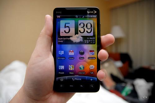 HTC Evo 4G   by closari