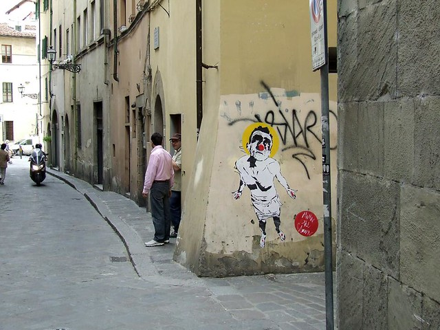 MIMI the ClowN in Florence, ITALY