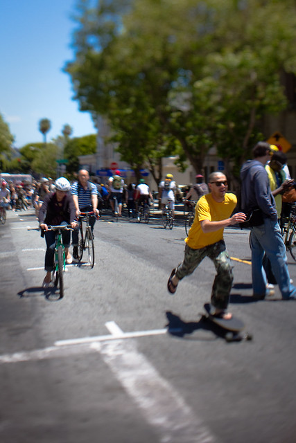 sunday streets: pedal faster!