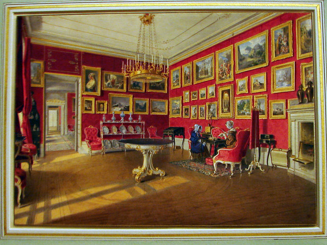 Picture room of Archduchess Sophie