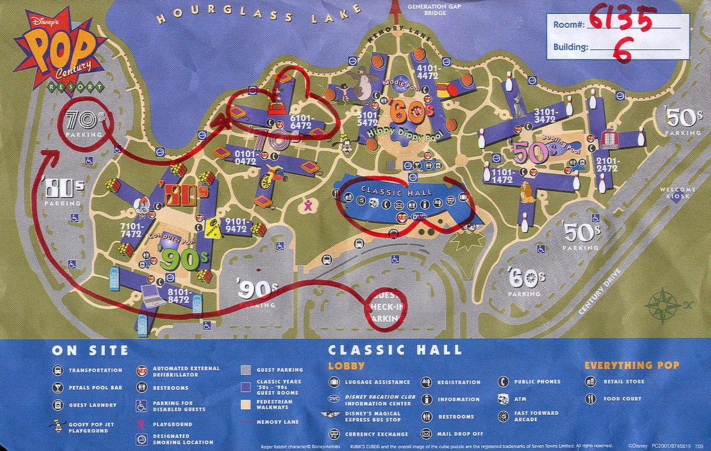 Disney\'s Pop Century Resort Map OR Do you know the way to ...