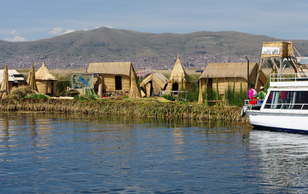 Floating Islands, Titicaca Lake, Peru
