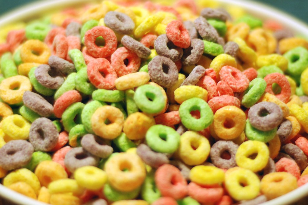 Going Loopy | Bowl of fruit loops after counting them out fo… | Flickr