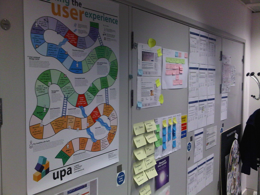 Upa S Designing The User Experience Poster Up On Creative Flickr