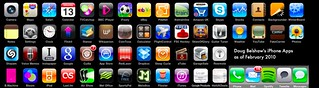 My iPhone apps as of February 2010 | by dougbelshaw