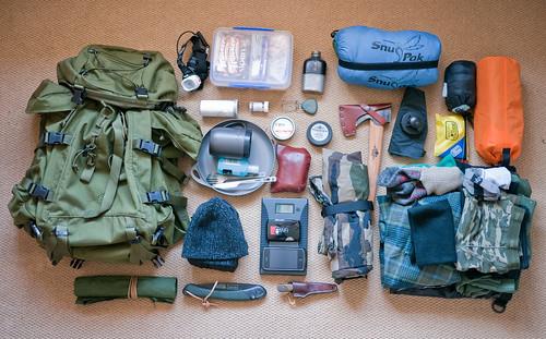 Bushcraft Kit used on Woodland Ways trip | by Documentally