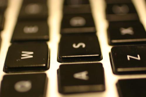 Macbook Pro keys   by gserafini