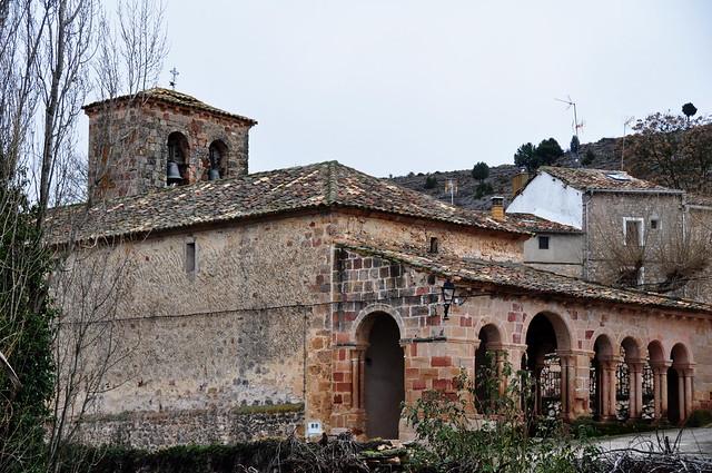 75 - Fachada Norte & Oeste - Iglesia El Salvador - Carabias (Sigüenza - Guadalajara) - Spain