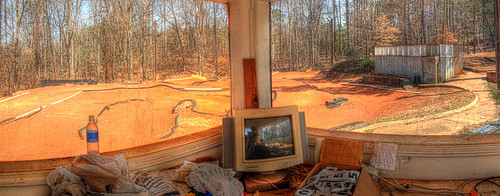 abandoned ga march track photomerge hdr 2010 thesugarbowl ga20 remotecontrolcarracing nrbuford