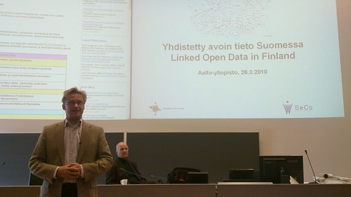 Mikael Jungner on Linked Data ecosystem | by henribergius