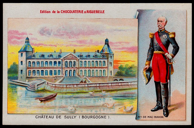 French Tradecard - Chateau De Sully