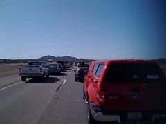 searchlight traffic 1   by Left Coast Rebel