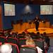 Jue, 25/03/2010 - 18:42 - Fernando Manzano, experto en inteligencia del grupo Interligare, durante la sesión que impartió a los participantes el programa Aulas de I+D, organizado conjuntamente por Tecnópole y la empresa Intellectia Bank. Tecnópole, 25 de marzo de 2010.