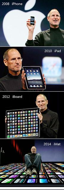iphone ipad evolution