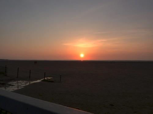 Sunset On Beach 2 (17/04/2010)