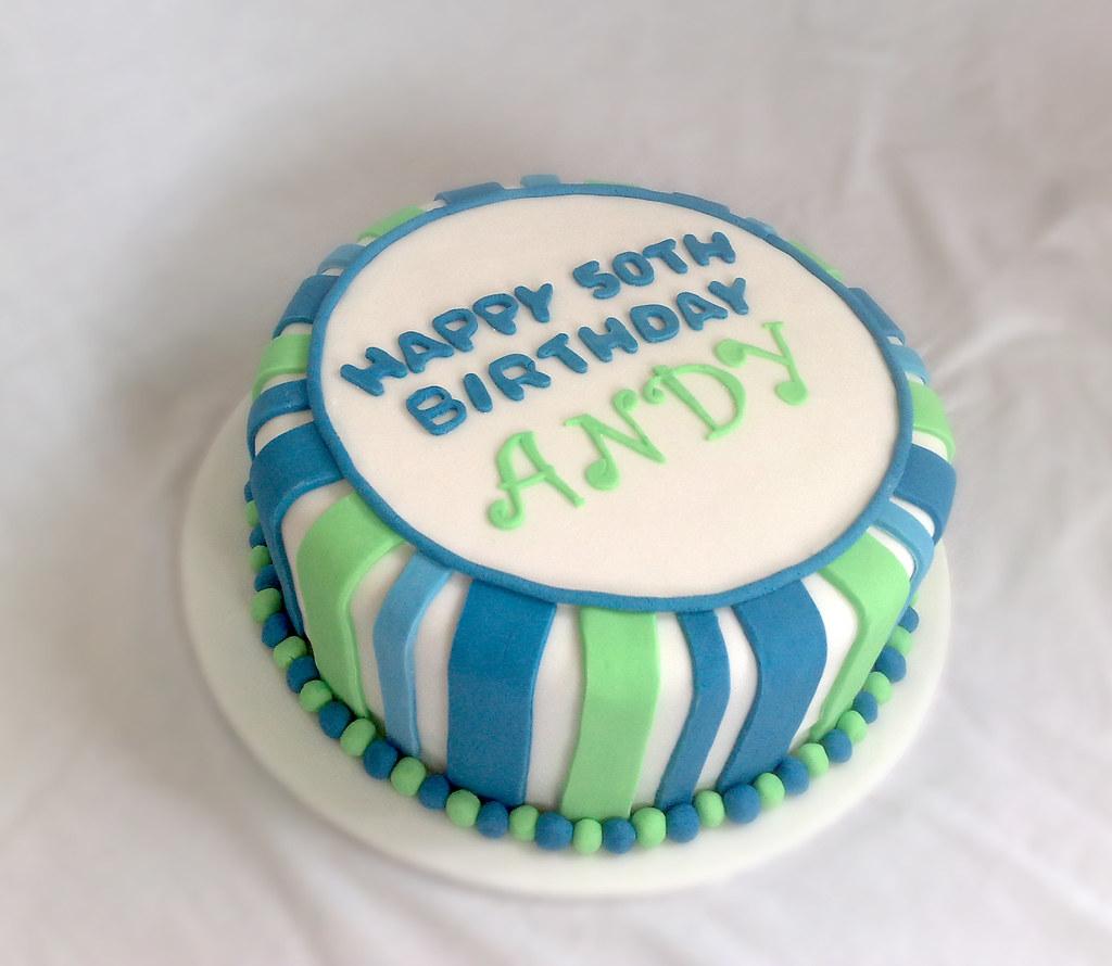 50th Birthday Cake Male