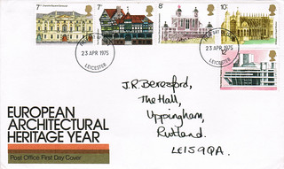 23-Apr-1975 UK First Day Cover