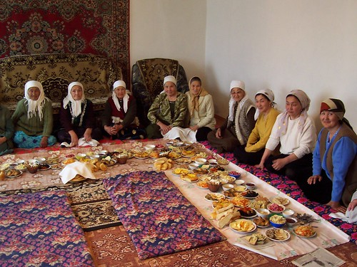 A Traditional Kazakh Gathering