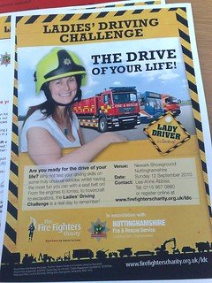 Ladies! Ever wanted to drive a fire engine?   by nilexuk