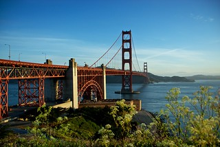 Fort Point and the Bridge