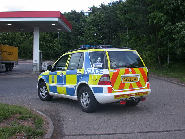 CMPG (West Mercia) M class at Frankley services