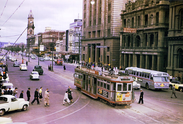 F1 278, King William Street, Adelaide - 1950's