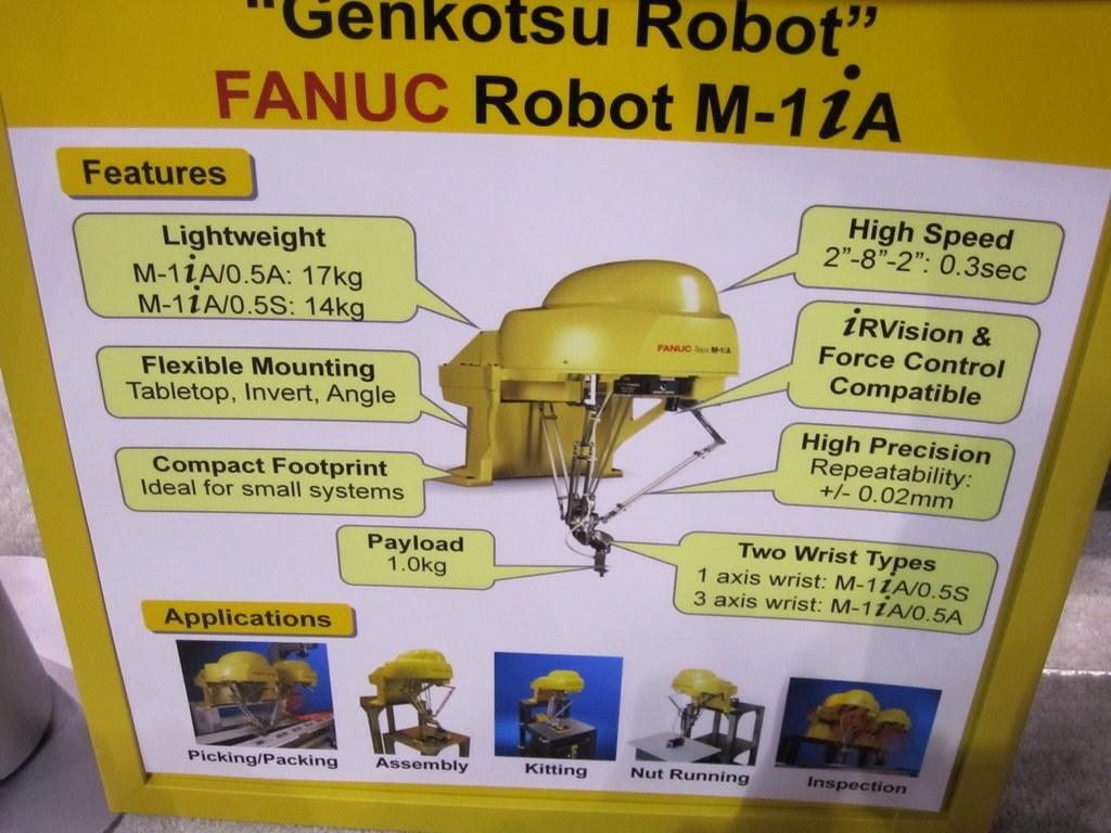 FANUC M-1iA Robot Info   RobotWorx   Flickr