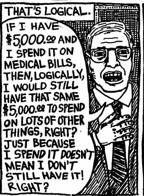 Keynesians abolish the law of scarcity