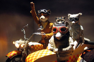 NYC: Bergdorf Goodman's 2009 Holiday window display - Fantastic Mr. Fox The Movie - The Wolf Road | by wallyg