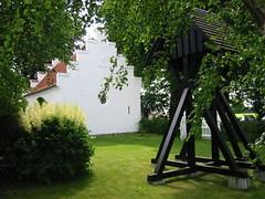 Ingelstrup Kapel og klokketårn set fra vest