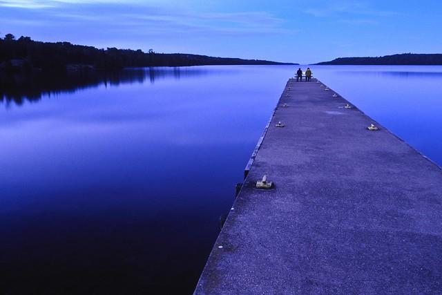 Twilight in Isle Royale National Park
